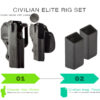 IDPA Civilian Elite Rig Set